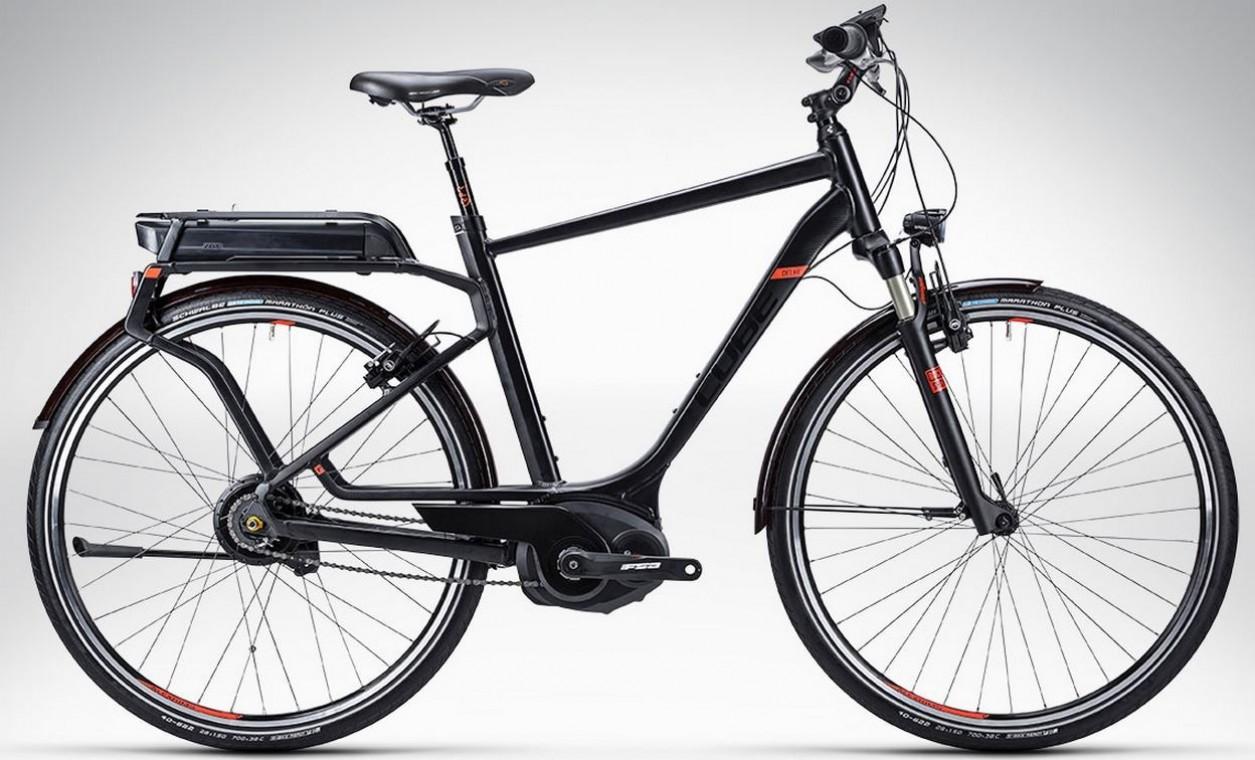 cube delhi hybrid sl black 2015 hybrid electric bike. Black Bedroom Furniture Sets. Home Design Ideas