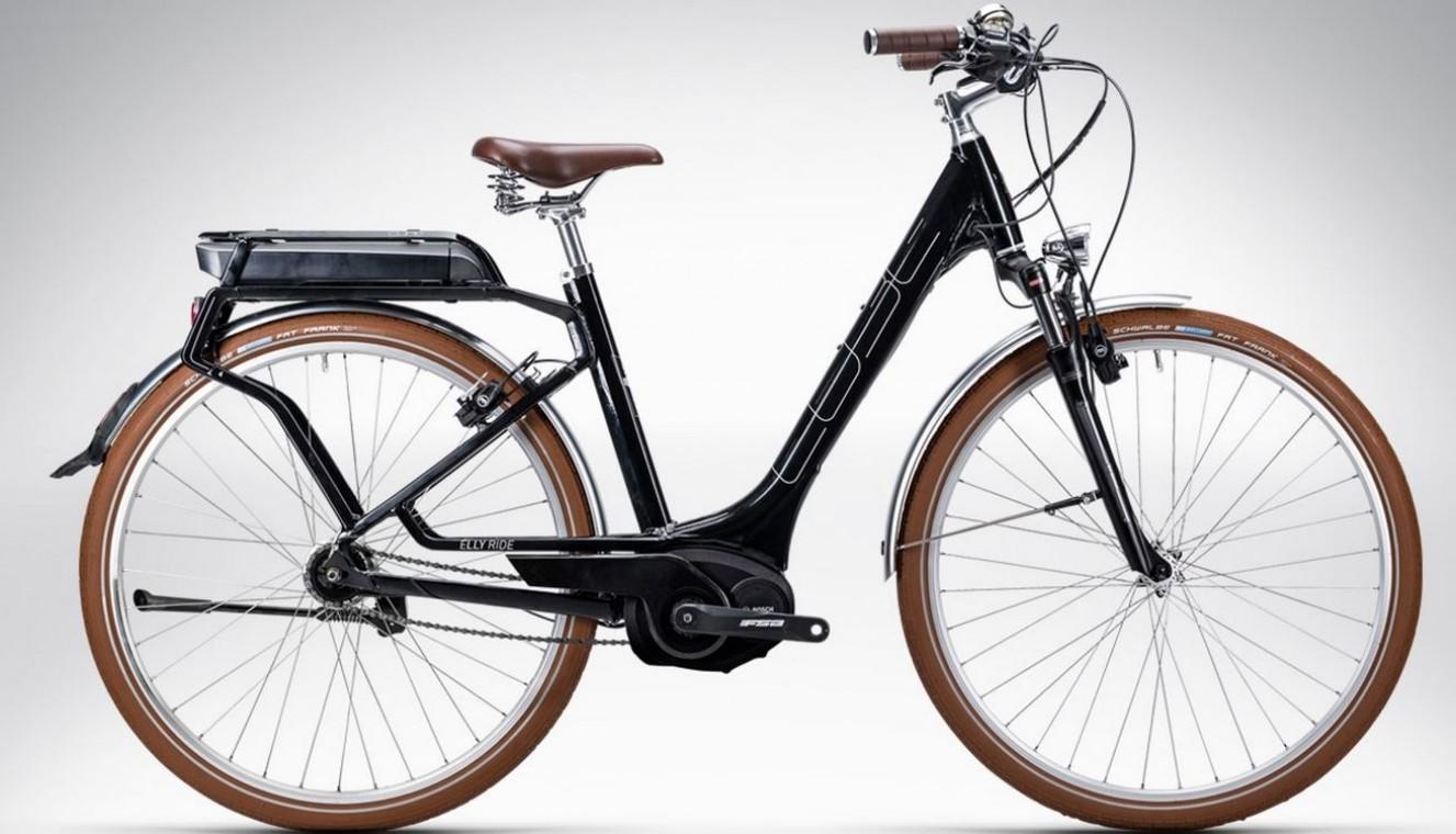Cube Elly Cruise Hybrid Black 2015 Hybrid Electric Bike