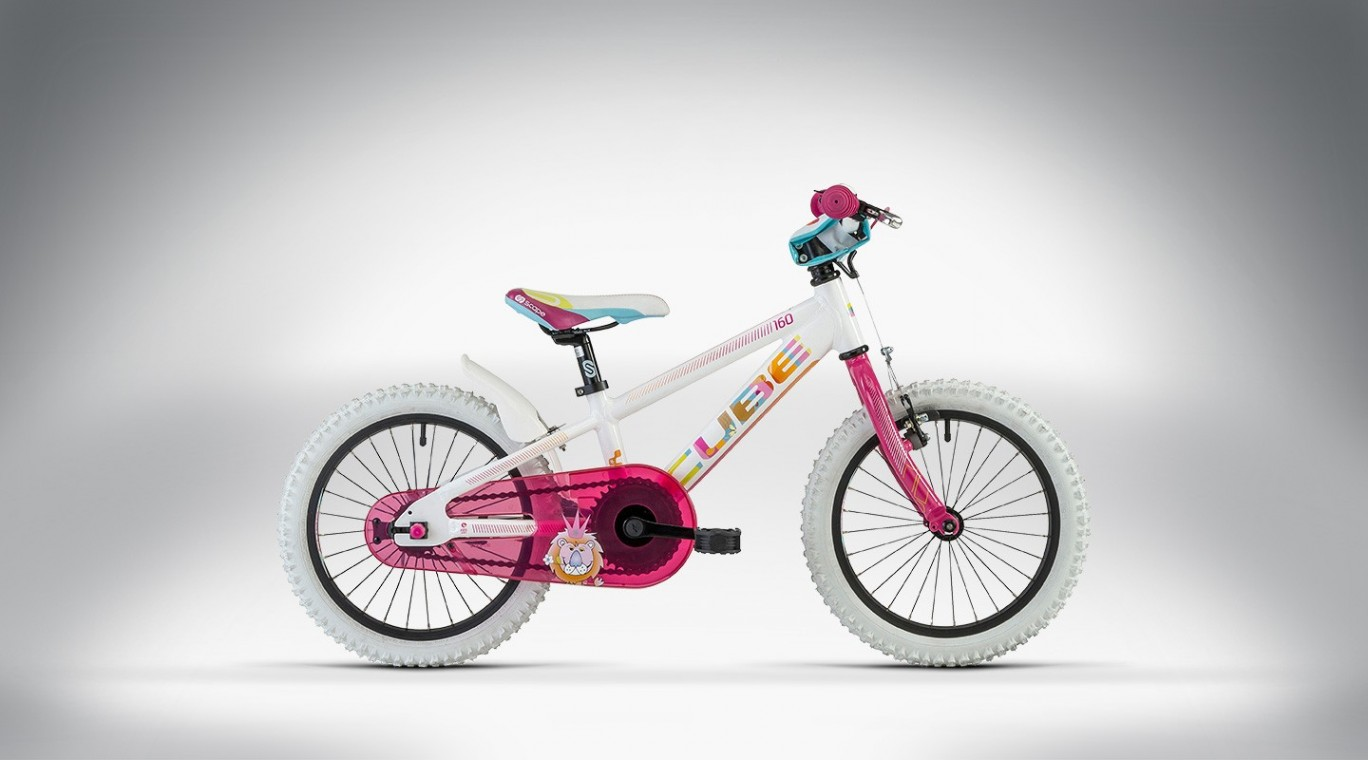 cube kid 160 girl 2014 kids bikes from 119. Black Bedroom Furniture Sets. Home Design Ideas