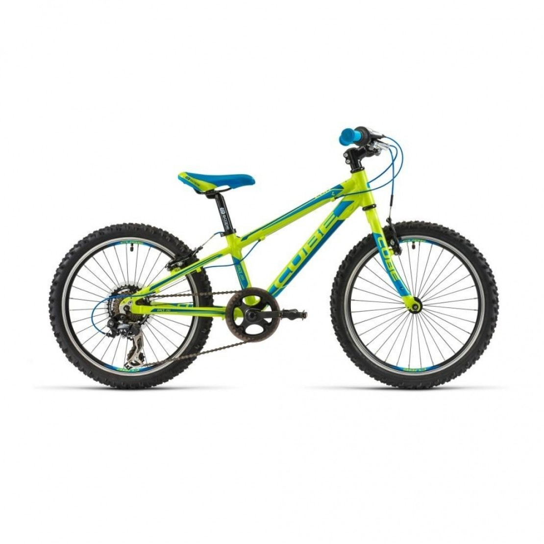 Cube Kid 200 Race Green Kid 200 Blue Lime 2014 Cube