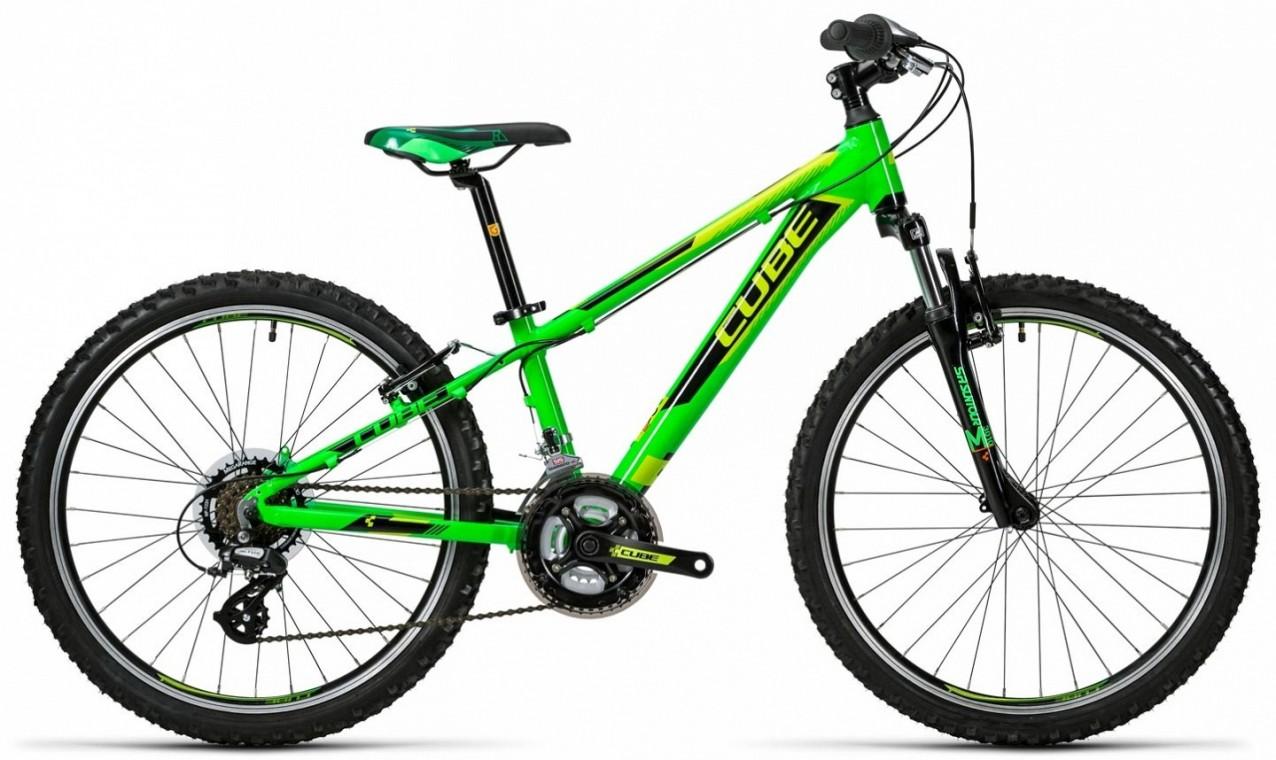 Cube Kid 240 Green 2016 24 Kids Bikes From 163 119