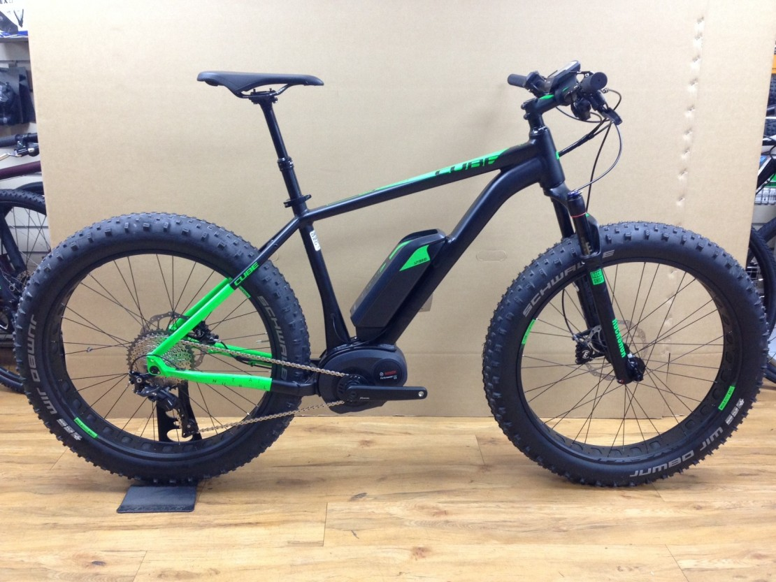 cube nutrail hybrid 500 2016 electric fat bike. Black Bedroom Furniture Sets. Home Design Ideas