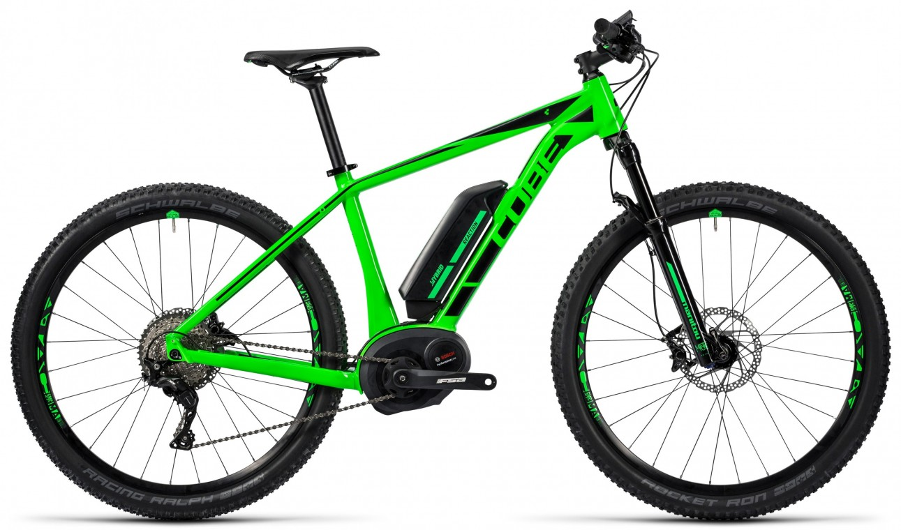 Cube Reaction Hybrid HPA SL 500 27.5 Green 2016- Electric Mountain Bike