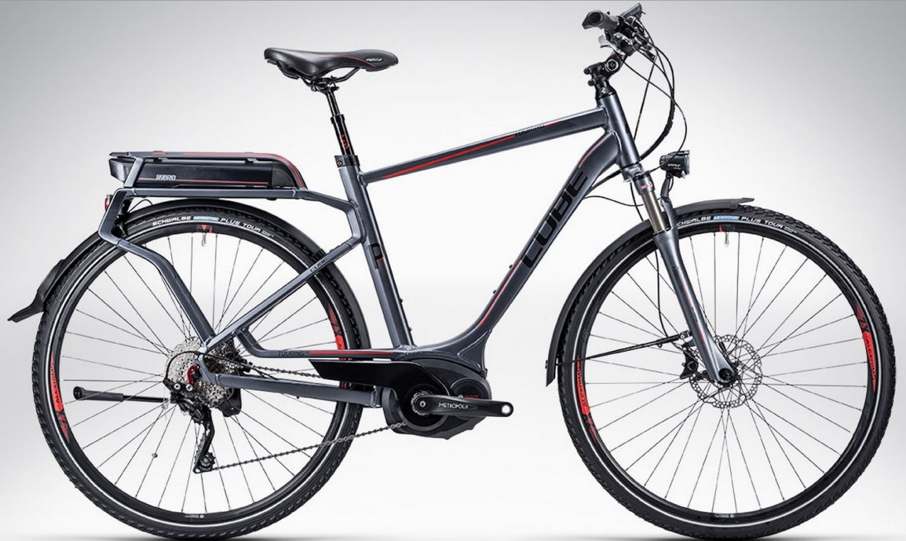 cube touring hybrid pro 2015 hybrid electric bike. Black Bedroom Furniture Sets. Home Design Ideas