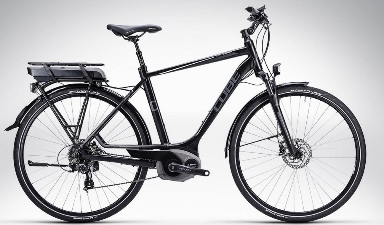 cube town hybrid 2015 hybrid electric bike electric. Black Bedroom Furniture Sets. Home Design Ideas
