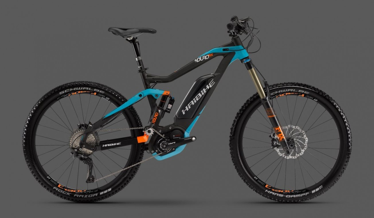 haibike xduro nduro rx 2016 enduro electric bike. Black Bedroom Furniture Sets. Home Design Ideas