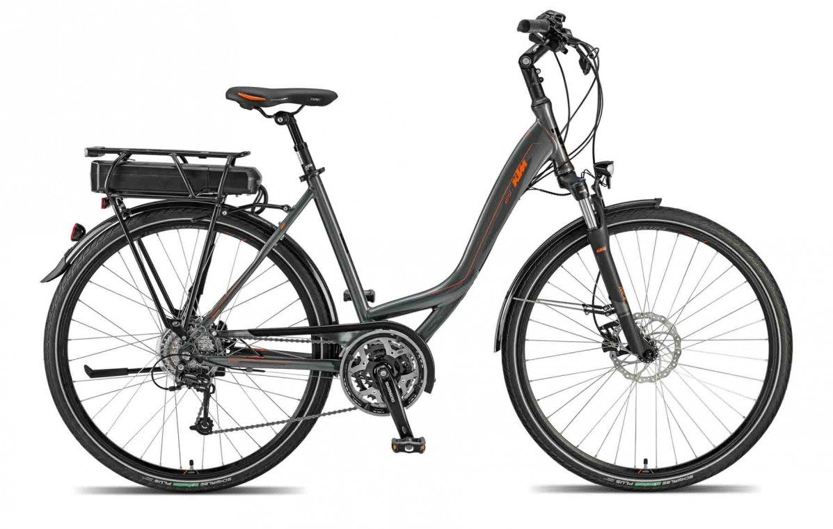 ktm estyle p 2015 low step through hybrid electric bike. Black Bedroom Furniture Sets. Home Design Ideas