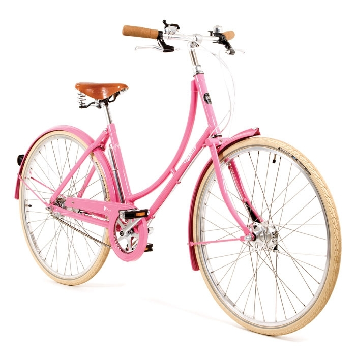 Pashley Bikes Poppy Blush Pink Traditional Ladies Bike 2014 Hybrids Ladies From 163 474