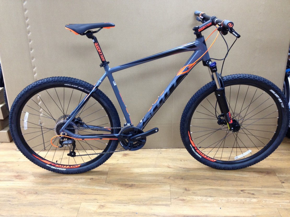 Scott Aspect 950 Grey 2016 29er Hardtail Mountain Bike