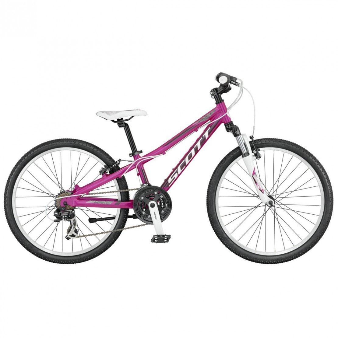 Scott Contessa Jr 24 2016 Girls Kids Bike on 5 Feet 3 Inches