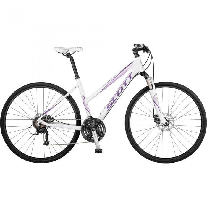 scott hybrid bike size guide