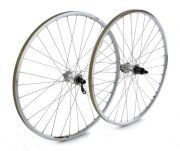 All Brands Front Wheel Shimano Deore Silver, Built Onto Mavic A119 Silver