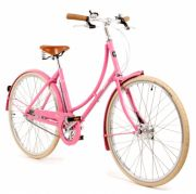 Pashley  Poppy -Blush Pink Traditional Ladies Bike