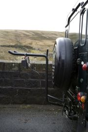 Pendle Tow Ball 4 Bike Landrover Pack
