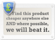 Find this product cheaper anywhere else and where possible, we will beat it.