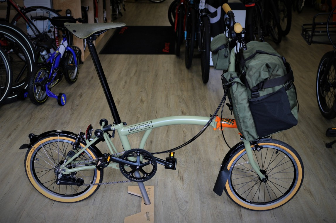 Brompton Explore 2020 Folding Bike Damian Harris Cycles