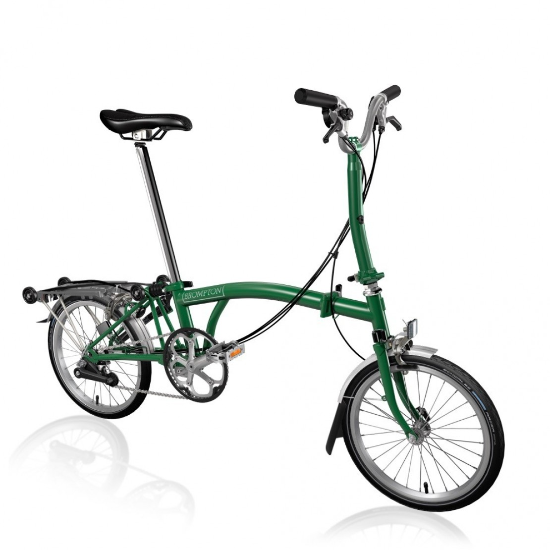 M6R Racing Green 2019 - Folding Bike