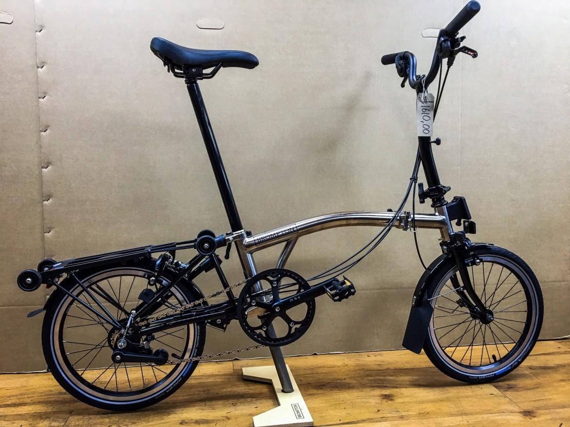 Brompton M6R Nickel Edition 2019 folding bike