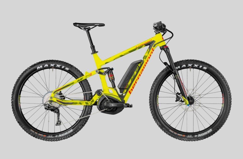 bergamont e contrail 6 0 plus 2018 full sus electric bike. Black Bedroom Furniture Sets. Home Design Ideas