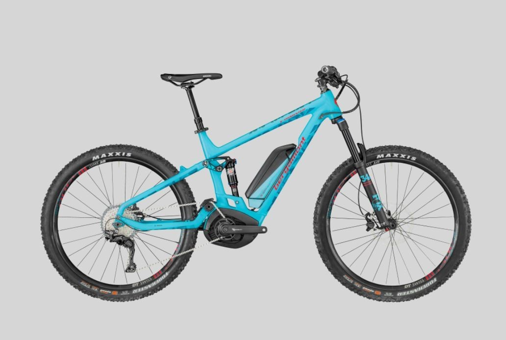 E-TRAILSTER 8.0 2018 - Full Suspension Electric Bike