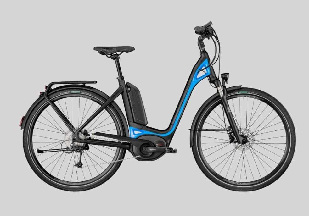 E-VILLE DEORE 2018 - Low Step Electric Bike