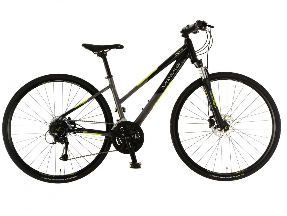 Claud Butler EXP 4.0 Low Step - Hybrid Bike 2018