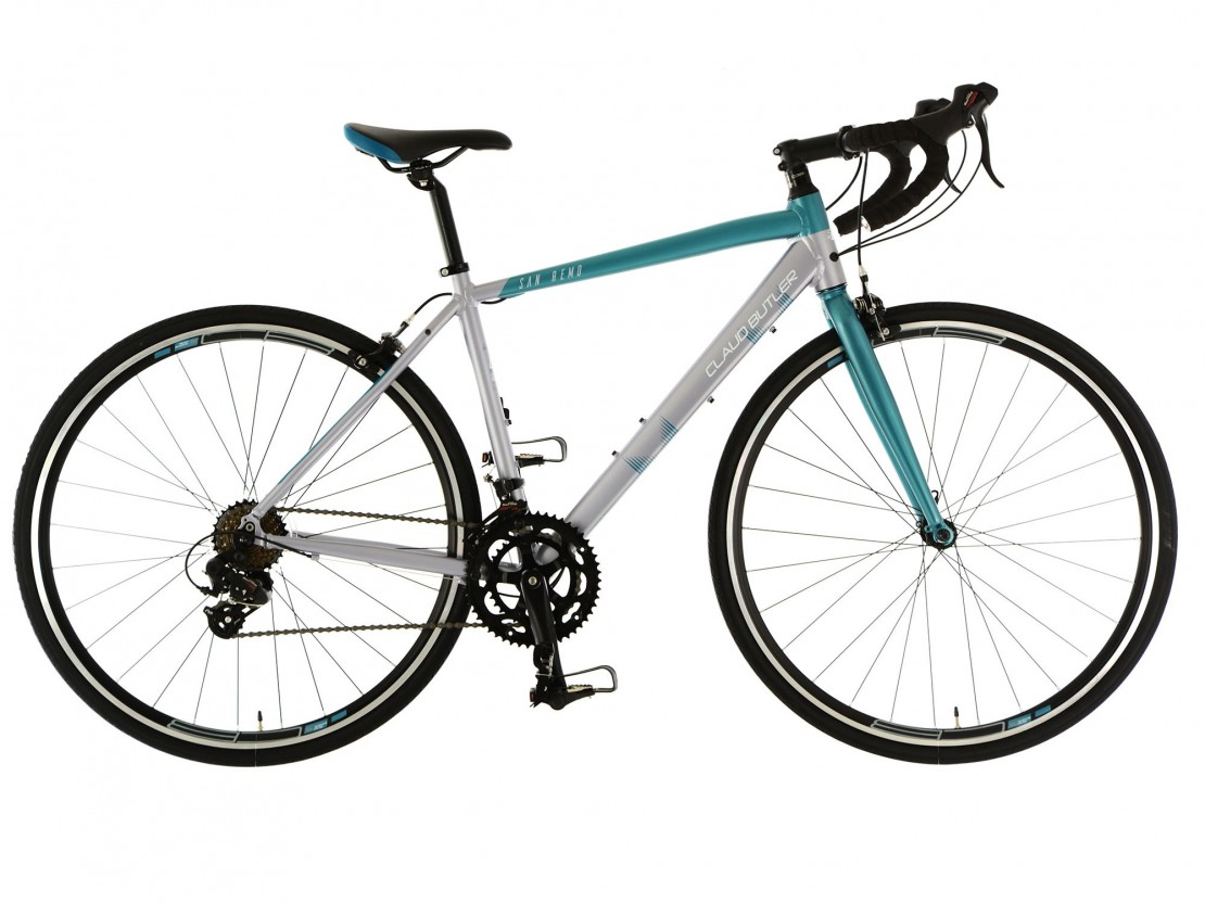 San Remo, Teal/Silver 2018 - Road Bike