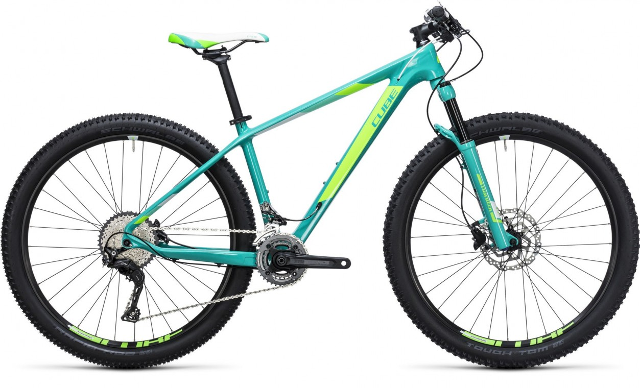 Cube Access WLS GTC Pro Mint/Green 2017