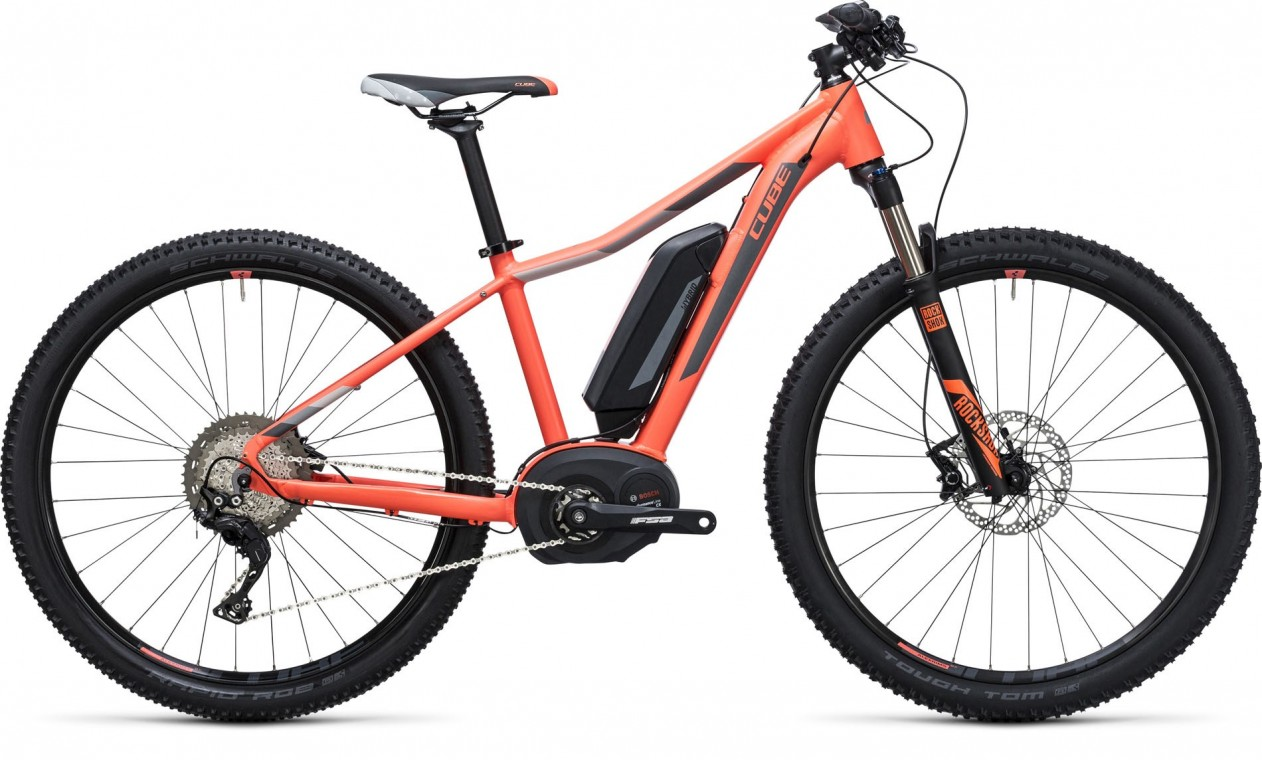 Cube Access WLS Hybrid Race 500 Coral/Grey - 2017