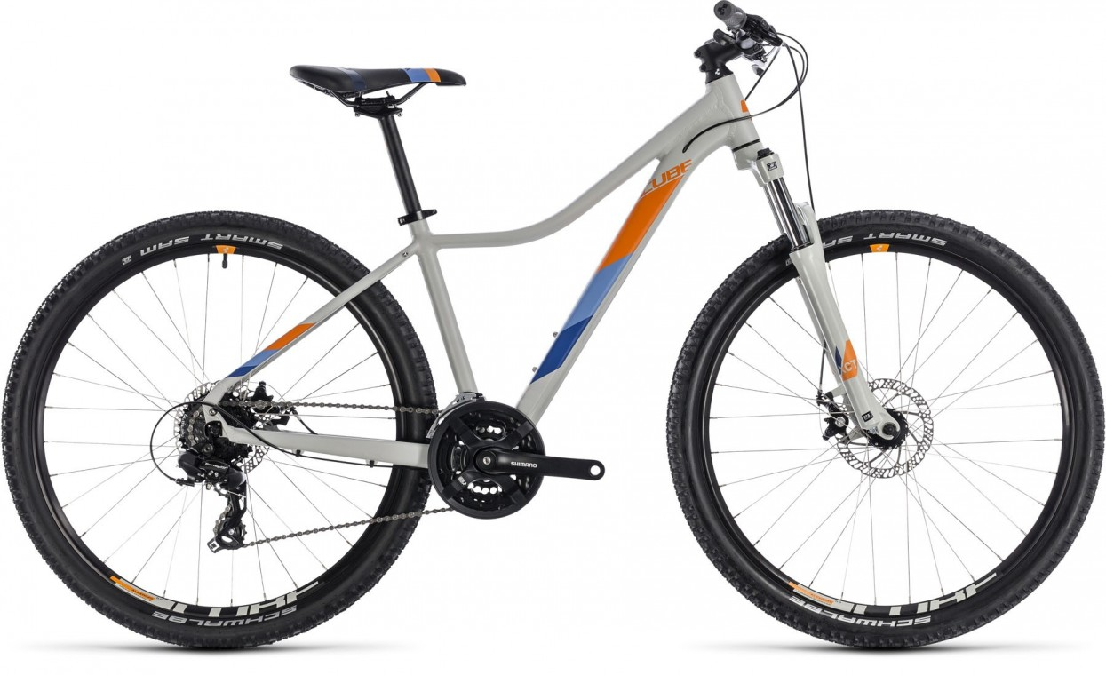 Access WS 27.5,  - Ladies Hartail Mountain bike grey/orange 2018
