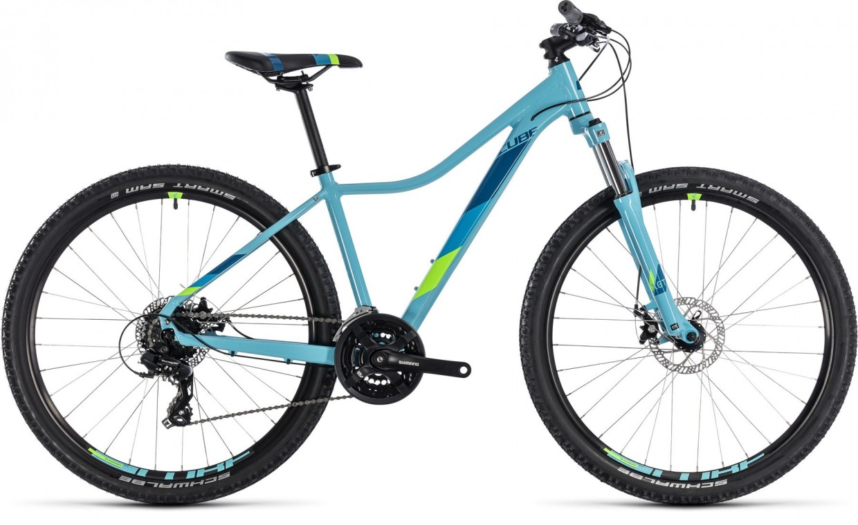 Cube Access Ws 29 2018 Ladies Hartail Mountain Bike Aqua Green