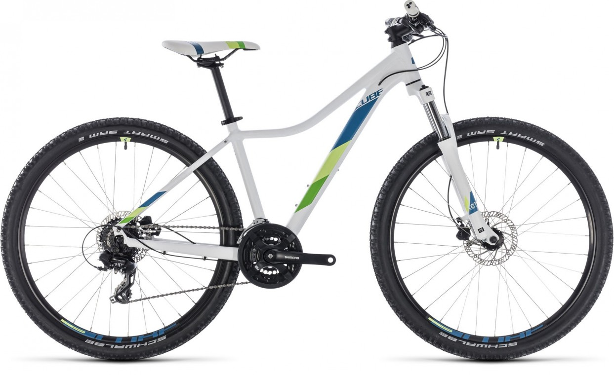 Access WS Eaz 29, 2018 - Ladies Hartail Mountain bike white/green