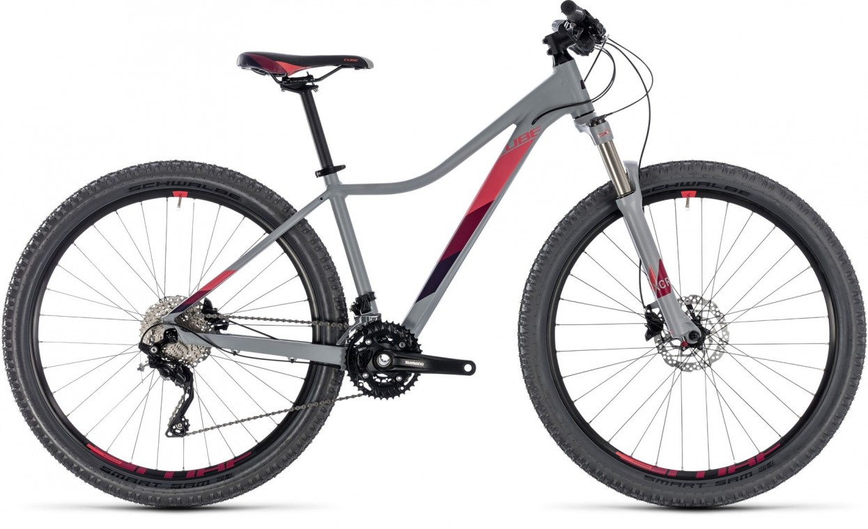 Access WS Race 27.5, 2018 - Ladies Hartail Mountain bike grey/berry
