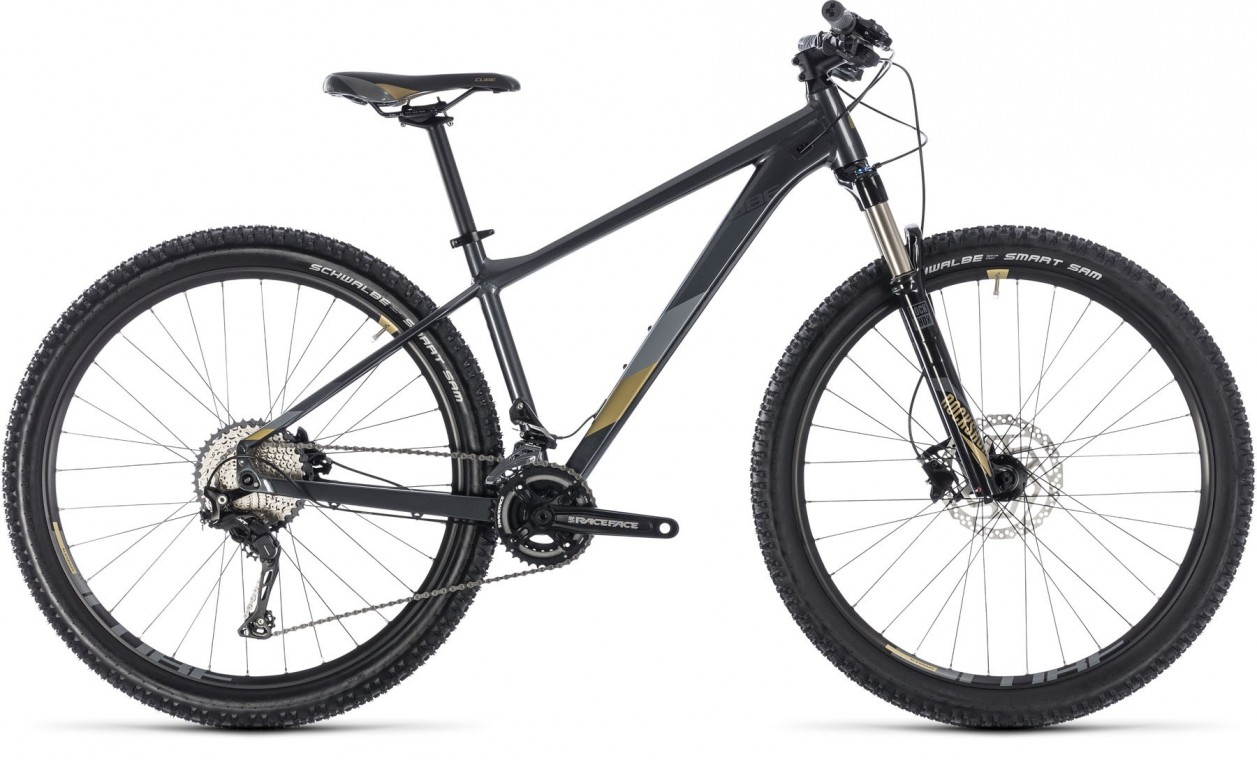 Access WS SL 27.5, 2018 - Ladies Hartail Mountain bike iridium/gold