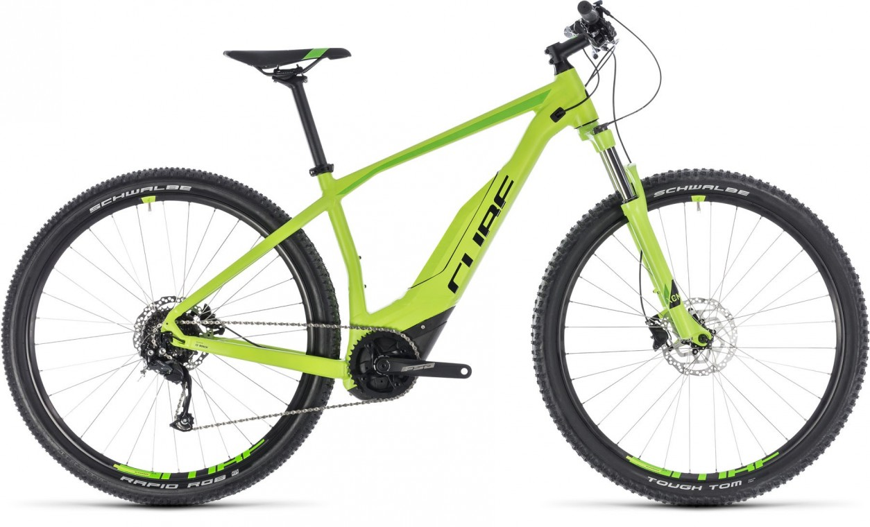 Acid Hybrid One 500 29, 2018 - electric bike green/black