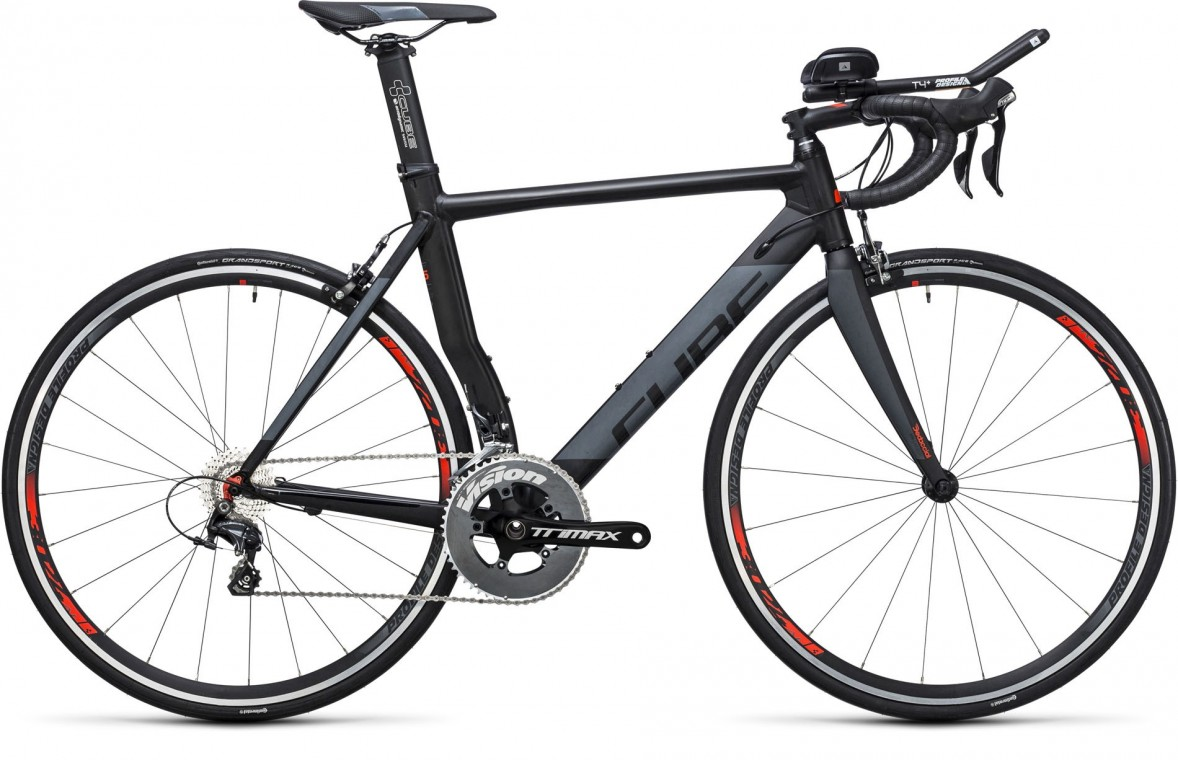 Cube Aerium HPA Pro Black/Grey 2017 - Road Bike