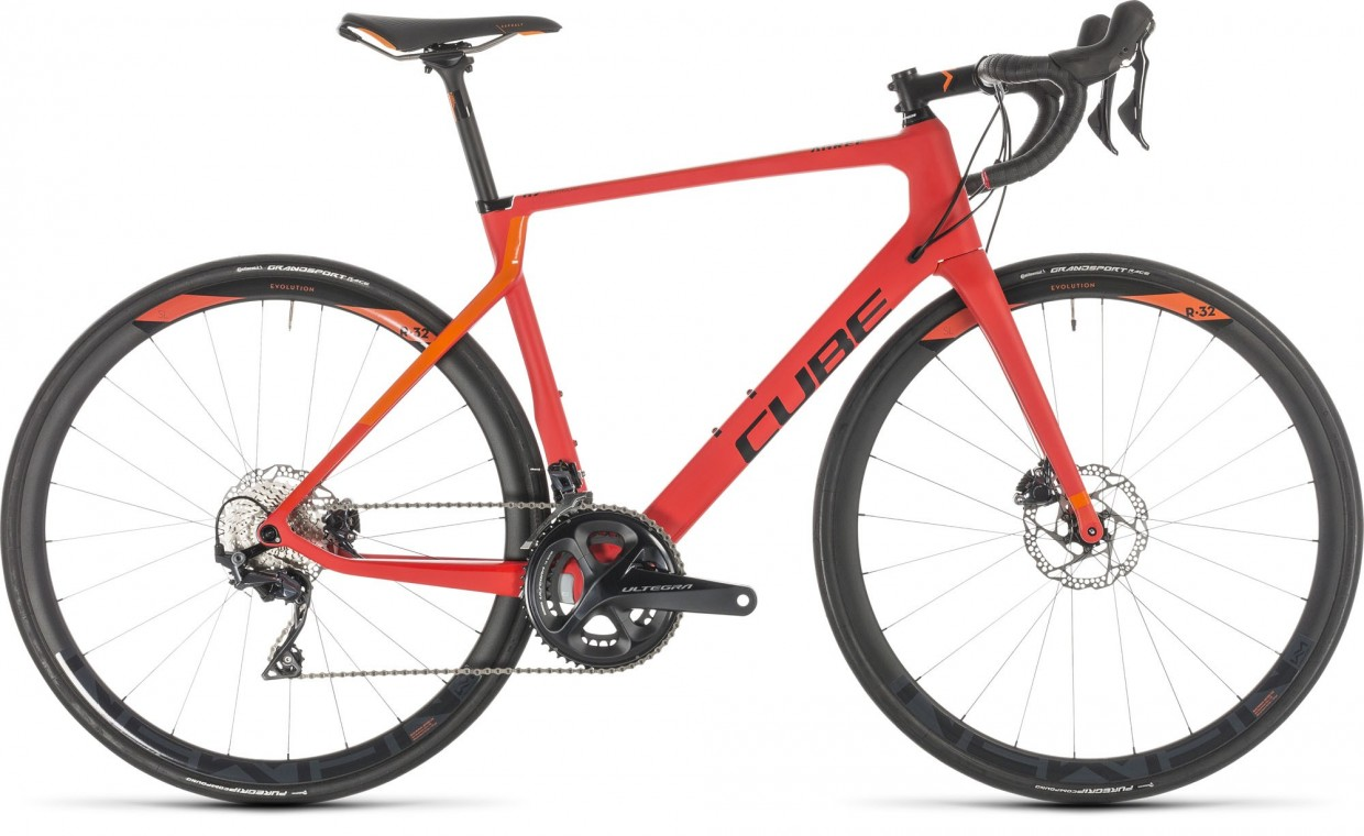 Cube Agree C:62 Race Disc Red/Orange 2019