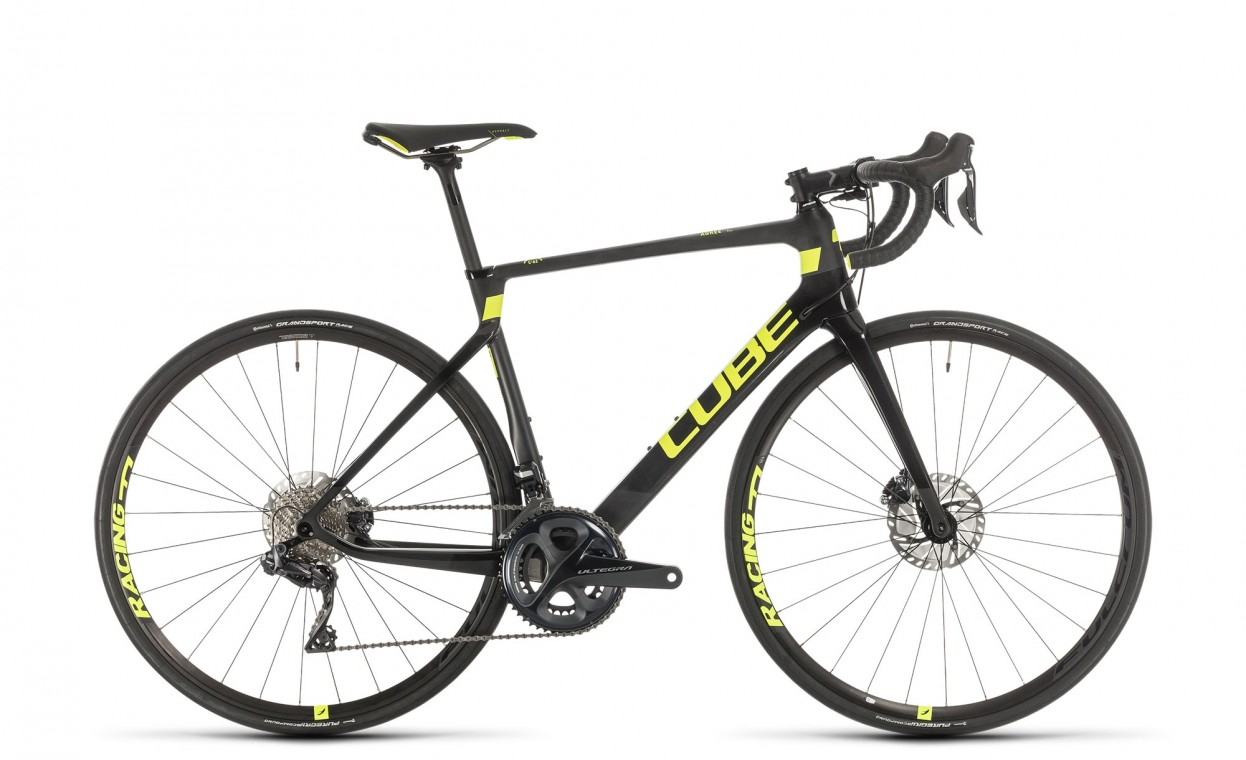 Cube Agree C:62 SL Carbon / Flash yellow 2020