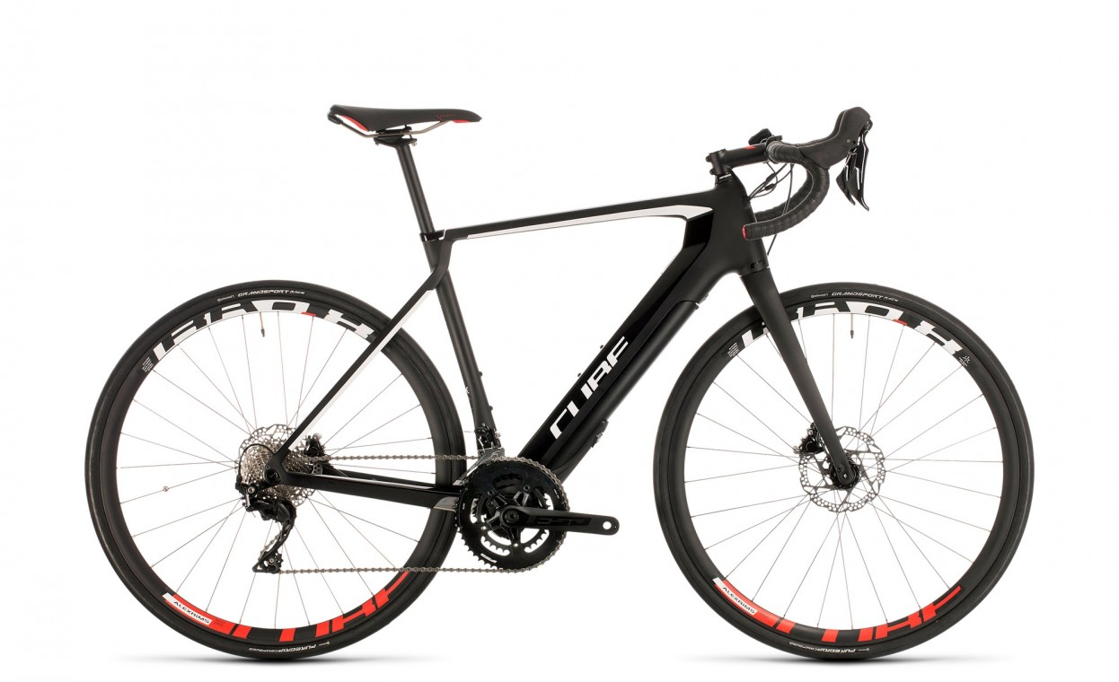 Cube Agree Hybrid C:62 Race Carbon / White 2020