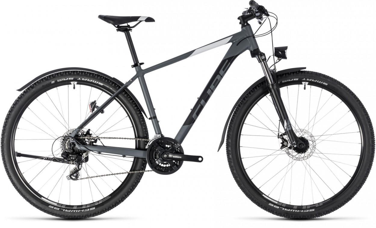 Aim Allroad 29, 2018 - Hardtail mountain bike grey/white