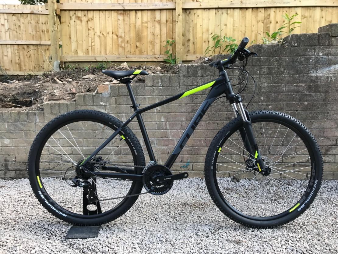 a239ac626ad Cube AIM PRO 2018 - Mountain Bike 27.5 / 29er
