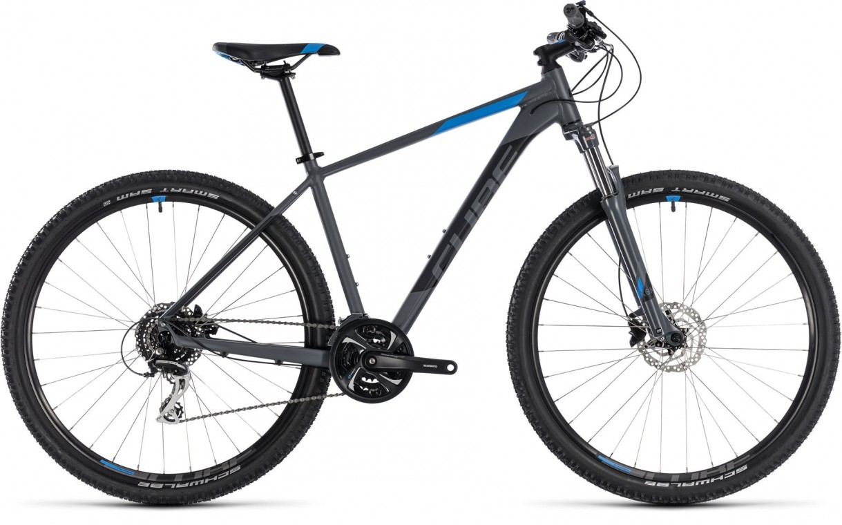 Aim Race 27.5, 2018 - Hardtail mountain bike grey/blue