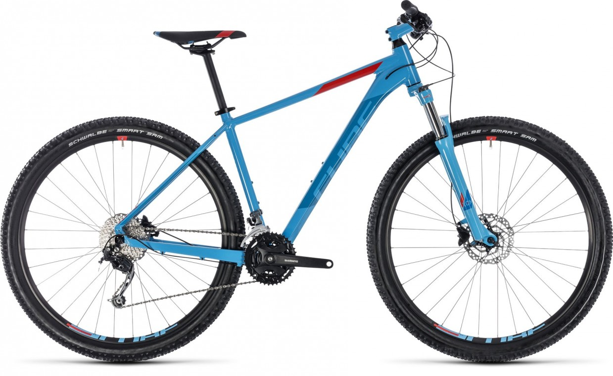 Aim SL 27.5, 2018 - Hardtail Mountain bike blue/red