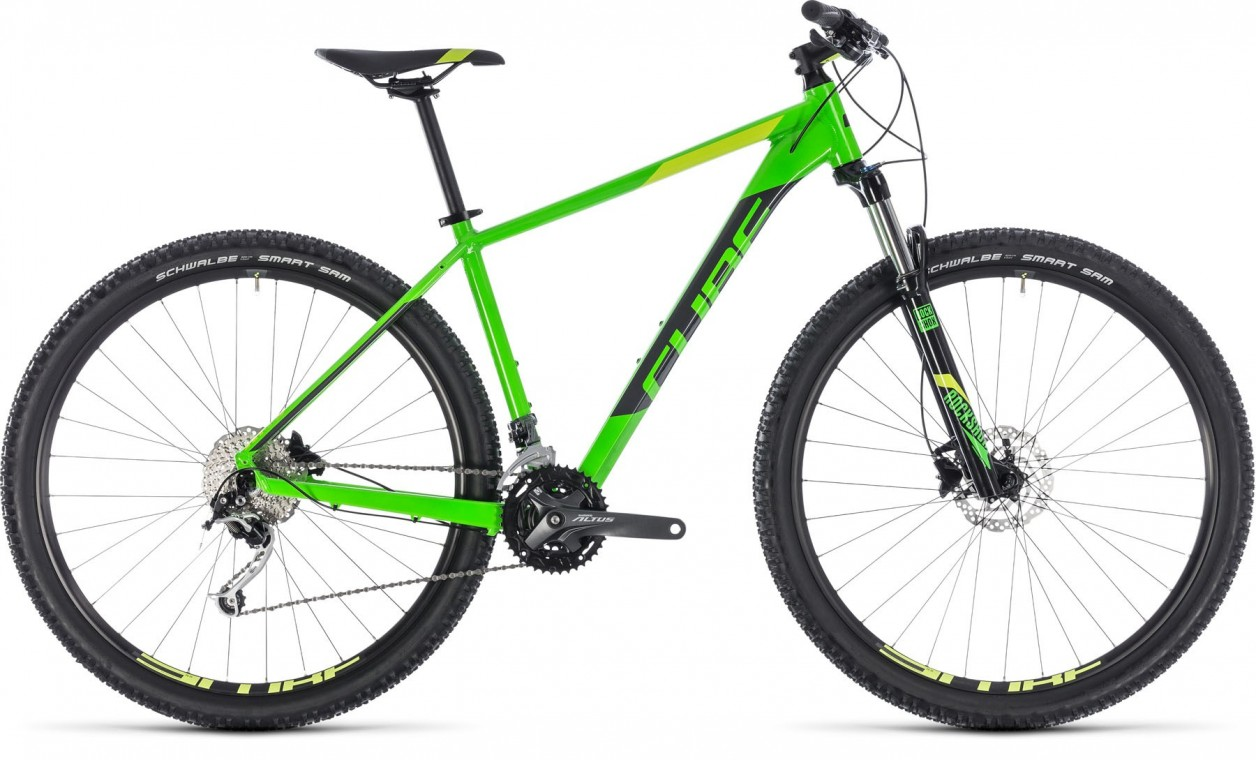 Analog 27.5, 2018 - Hardtail Mountain bike flashgreen/grey