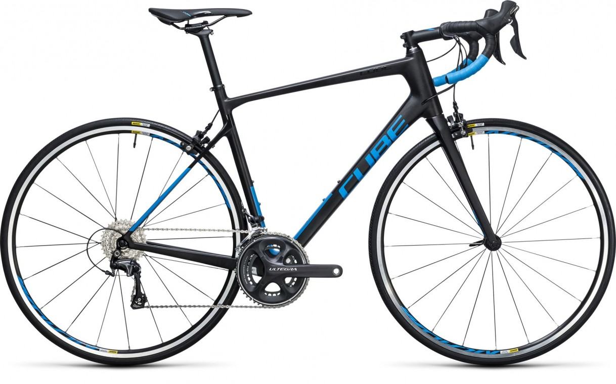 Attain GTC Race Carbon/Blue 2017 - Road Bike