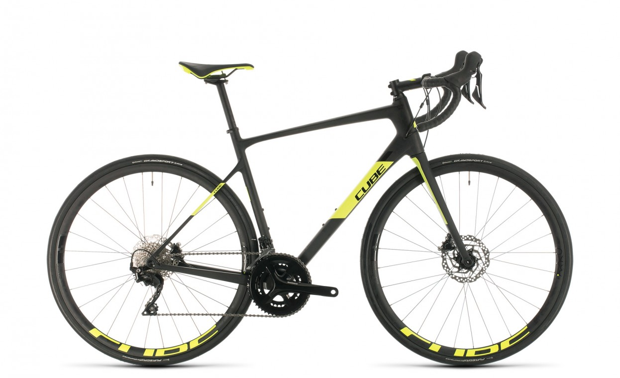 Cube Attain GTC Race Carbon / Flash Yellow 2020