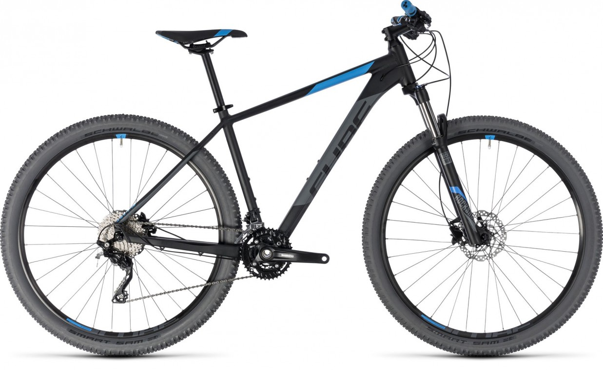 Attention 29, 2018 - Hardtail Mountain bike black/blue