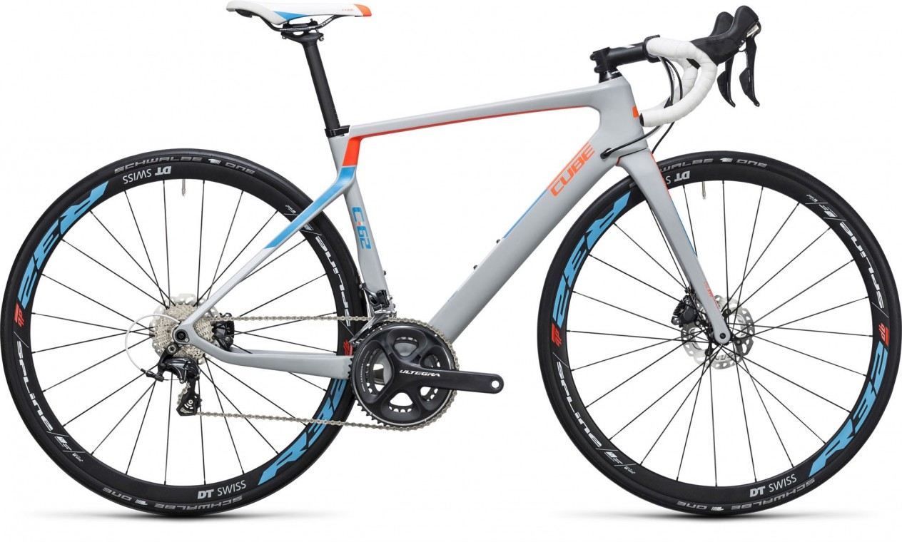 Cube Axial WLS C:62 SL Disc Team WLS 2017 - Road Bike