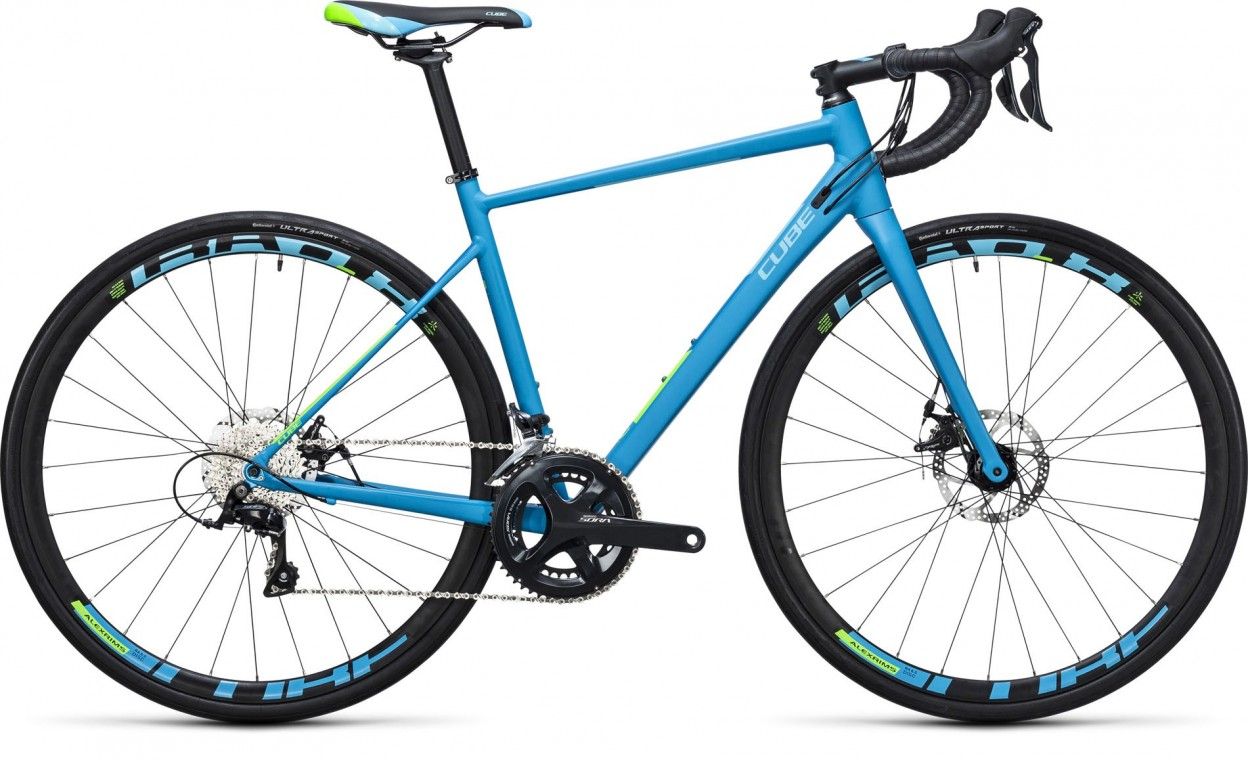Axial WLS Pro Disc Reefblue/Green 2017 - Road Bike