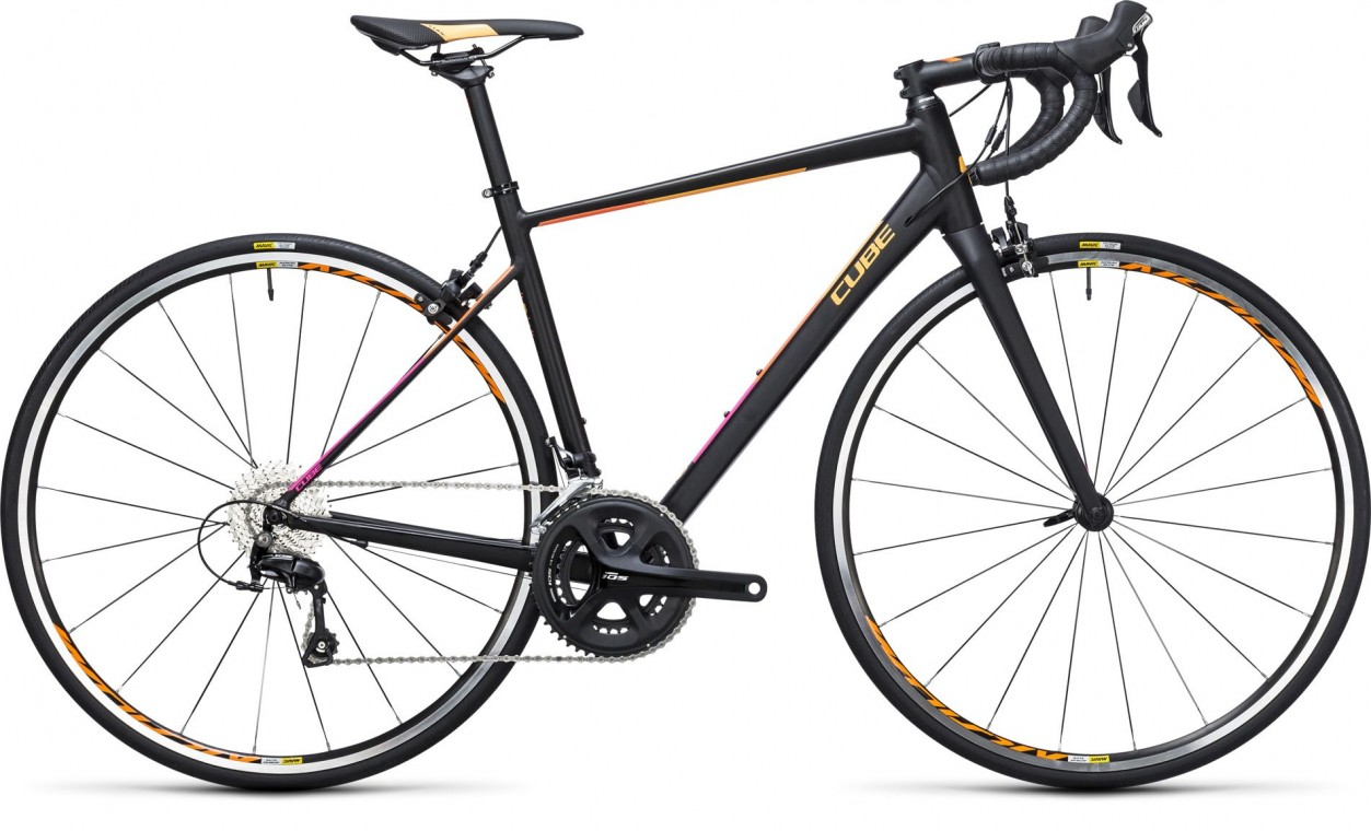 Axial WLS Race Black/Orange 2017 - Road Bike